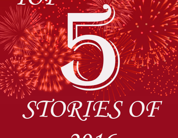 TOP 5 STORIES of 2016