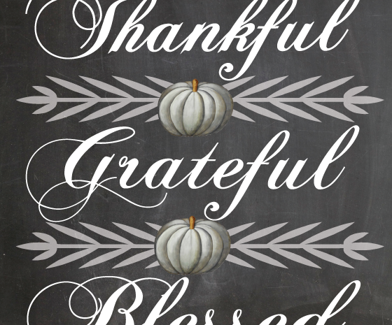 GRATITUDE – Revisited this Holiday Season